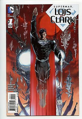 Superman Lois And Clark #1 1:25 Tony Daniel Variant 1St Jon Kent Superboy Vf/nm