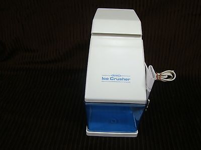 Rival Ice Crusher - Electric - Model 840/3 - White - Clear Ice Cup