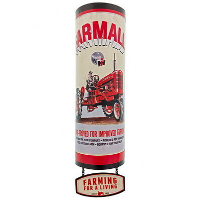 Farmall Tractors 3-Piece 3D Distressed Tin Sign Vintage Style Garage 5 x 19