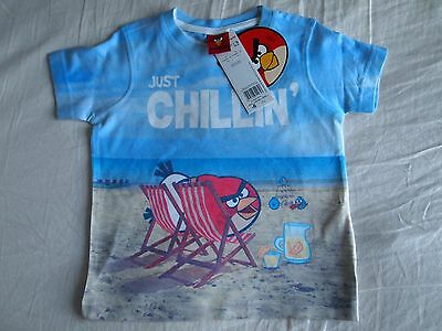 New Angry Bird T-Shirt For Baby Boy 1.5-2 years
