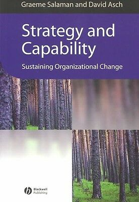 Strategy and Capability by David Asch Paperback Book