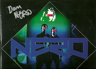 """NERO Me And You 12"""" SIGNED UK 2011 Dubstep ELECTRONICA Drum n Bass"""
