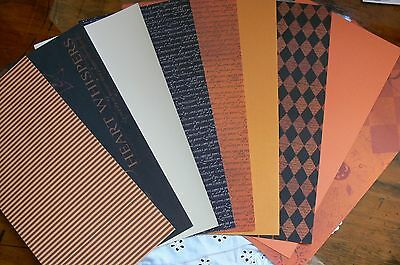 HERITAGE 18 Sheets 6x6 Contrast CARD PaperKIT - BROWN BLACK COPPER IVORY Mixture