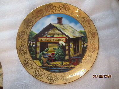 """Grateful Dead """"TERRAPIN"""" Collector Plate Stanley Mouse"""