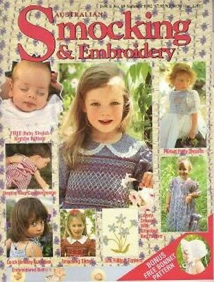 VINTAGE AUSTRALIAN SMOCKING & EMBROIDERY 19 Rare and Out of Print