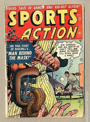 Sports Action (1950) #12 VG- 3.5