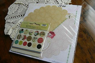Webster COMBO BOTANICAL Christmas & Collection Kit 12x12 - Sticker Letters