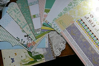 Webster BEST FRIENDS Collection Kit 12x12 - Letters - Ribbon/Lace & Flower Pack