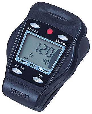 Seiko Clip-On Metronome - Blue