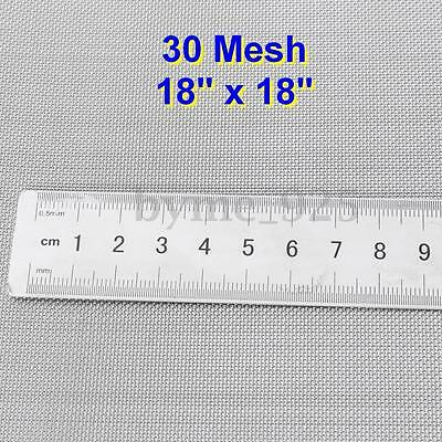 45x45cm 304 Stainless Steel 30 Mesh 550 Micron Filtration Wire Screen Filter