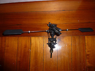 Kyosho Nexus 30 helicopter rotor head main shaft assembly H-3012