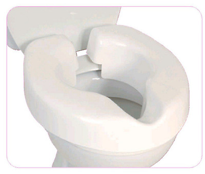 NRS Healthcare F25145 Novelle Portable Clip-On Raised Toilet Seat