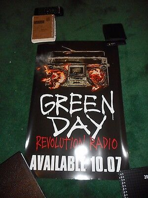 Green Day - Revolution Radio - Original Rolled Ds Promo Poster - 2016