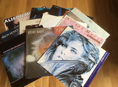 """Alison Moyet - The Collection - 11 X12"""" Singles Collection - Superb Set"""