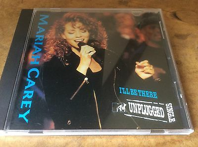 MARIAH CAREY -I'll Be There - MTV Unplugged USA 1trk Promo Only Cd Single. Rare.