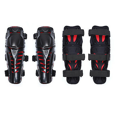Durable Adults Elbow Knee Shin Armor Protector Guard Pads for Bike Motocross HV