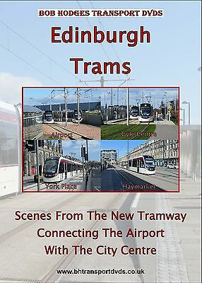 Edinburgh Trams DVD, Scenes from the Airport-City Centre Line opened in 2014.