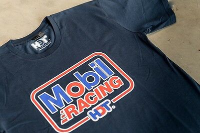 HDT Mobil Racing t-shirt - Holden Dealer Team Tshirt  Peter Brock commodore tee