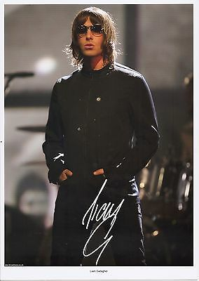 """Liam Gallagher, Musician & Singer """"oasis"""" & """"beady Eye"""" Autographed Photograph"""