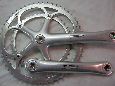 CAMPAGNOLO RECORD 10-SPEED, 172.5mm, C10 53/39t, CRANK SET, VGC