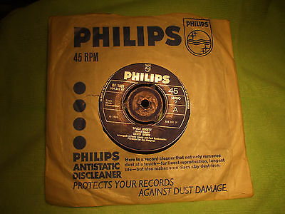 """DAVID BOWIE  Vinyl Single 45RPM. """"Space Oddity"""" 1969 issue: Phillips BF 1801"""