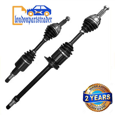 Jaguar X-Type 2.0D 2.0 2.2 D Front Driveshaft Pair Right & Left Side Brand New