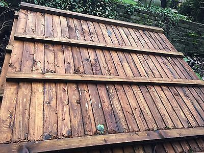 Timber Fence Panels X 8