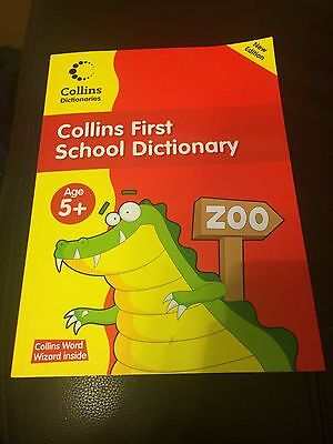 Collins First School Dictionary New