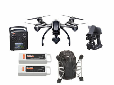 Yuneec Q500 4K Typhoon Quadcopter Drone RTF, CGO3 Camera, ST10+ & Steady Grip