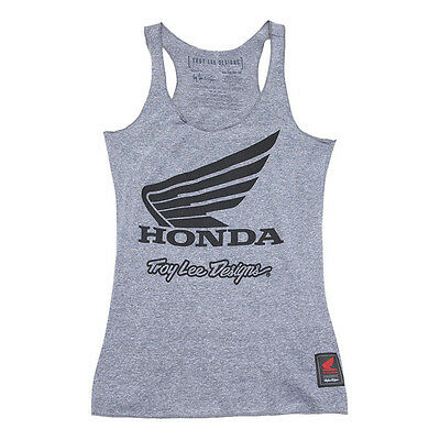 Troy Lee Designs Honda Wing Womens Tank Top Gray 721416923 721416924 S M L