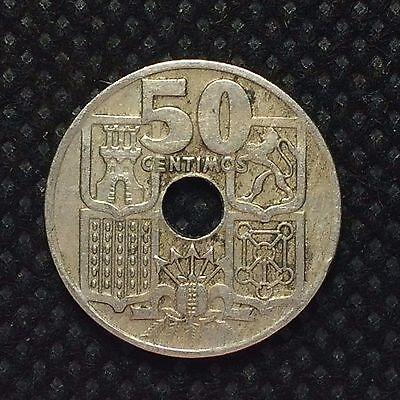 Spain 1949 (56) 50 Centimos (Francisco Franco, caudillo) / C1600791