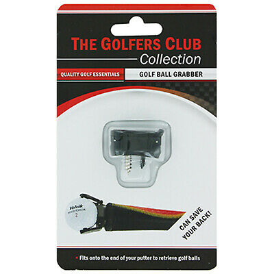 Golfers Club Collection Clip Ball Grabber - New Pick Up Claw Fits All Putters