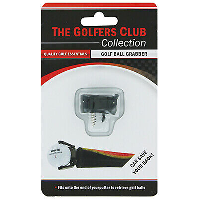 Golfers Club Collection Golf Ball Grabber - Pick Up Claw Clip Fits All Putters