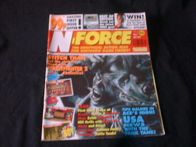 N-Force Nintendo Videogame magazine Issue 1 : No 1 July 1992