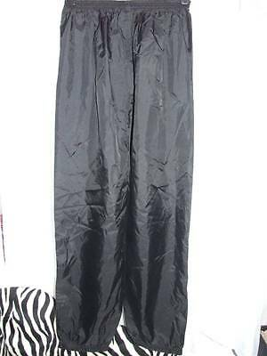 Ladies Trespass Pvc Backed Nylon Water Proof Trousers Xl  {Y82