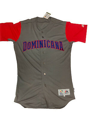 World Baseball Classic Series 2017 Authentic Ground Jersey Dominican Republic