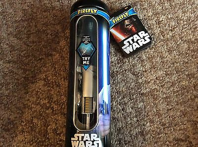 Star Wars Toothbrush - Rey - Lightsaber - Light Up Timer - Force Awakens - Bnwt