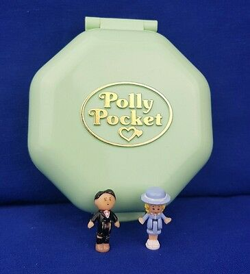 100%Complete  polly pocket Polly's School excellent condition 1990