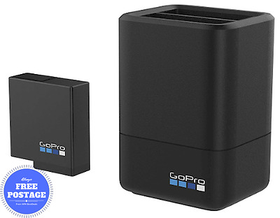GoPro Dual Charger And Battery For HERO5 Camera - Black