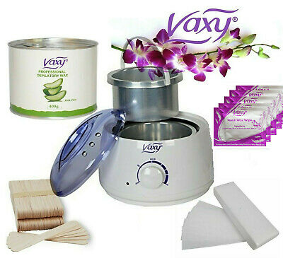 Wax Warmer Hair Removal Waxing Kit Total Home or Salon  Waxing Solutions For All