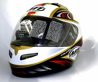 CASCO INTEGRALE MT Falcon H1 IN FIBRA  Tg XL  ULTIMI RIMASTI MOTO SCOOTER