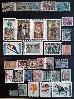 Bulgaria - nice lot of stamps used