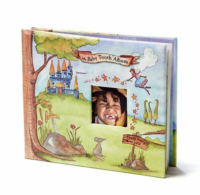 Baby Tooth Memory Book (Blue for Boy)