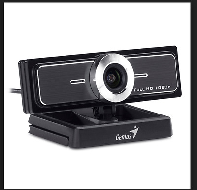 Genius 120-degree Ultra Wide Angle Full HD Conference Webcam(WideCam F100)
