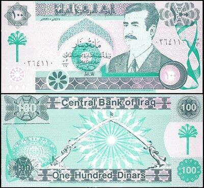 IRAQ 100 DINARS (fake) 1991 P 76 UNC OFFER !