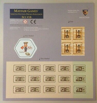 1x  Mayfair Games: Limited Edition Promo Expansion Set #18 Brand New Board Games