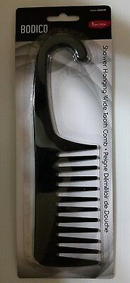 Shower Hanging Wide Tooth Comb