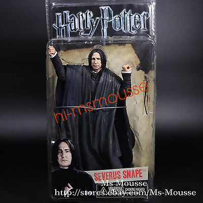NECA Harry Potter Deathly Hallows Severus Snape 7 inch Series1 Action Figure New