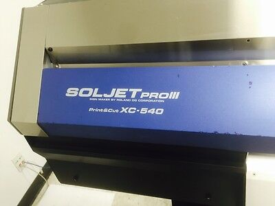 Roland printer XC 540 pro||| .eco solvent Print & Cut.