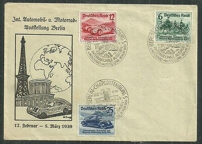 Germany Cover #b134-B136 (Used) From 1.